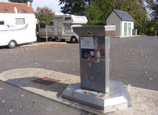 Aire de services camping-cars - Vouvray
