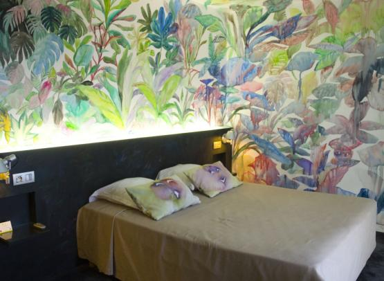 14Amiral Hotel coussin chambre d'artiste
